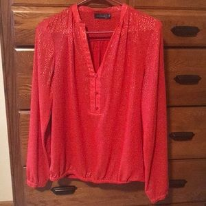 Red limited blouse